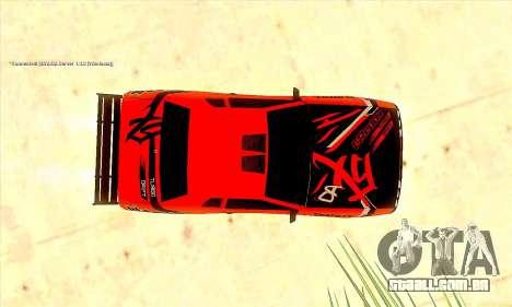 Elegy Sport para GTA San Andreas vista traseira