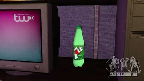 A nova garrafa de espumante beber 7UP para GTA 4 terceira tela