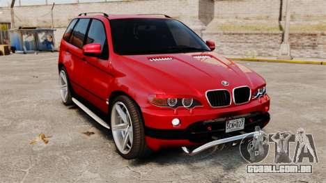 BMW X5 4.8iS v3 para GTA 4
