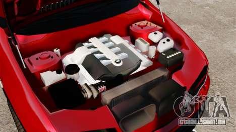 BMW X5 4.8iS v3 para GTA 4 vista interior