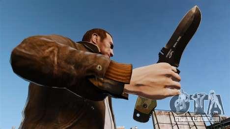Faca tática v4 para GTA 4 terceira tela