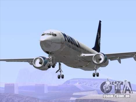 Boeing 737-800 Spirit of Manila Airlines para as rodas de GTA San Andreas
