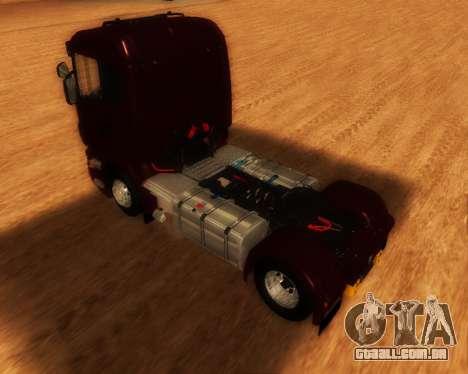 Scania R440 para GTA San Andreas esquerda vista