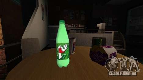 A nova garrafa de espumante beber 7UP para GTA 4