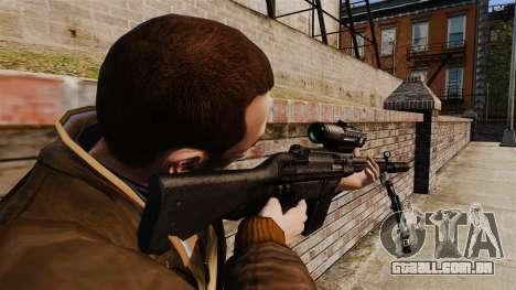 HK G3SG1 sniper rifle v1 para GTA 4 segundo screenshot