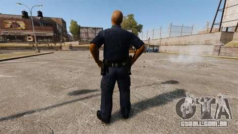 Um guarda-roupa atualizado para polícia para GTA 4 terceira tela