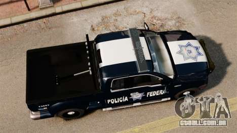 Ford F-150 De La Policia Federal [ELS & EPM] v2 para GTA 4 vista direita