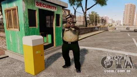 Guardas da polícia para GTA 4 segundo screenshot
