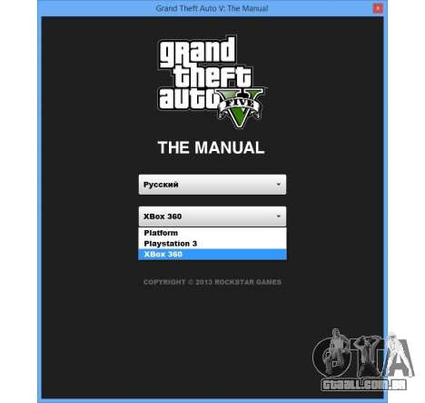 GTA v: Manual: o mapa interativo da área para GTA 5