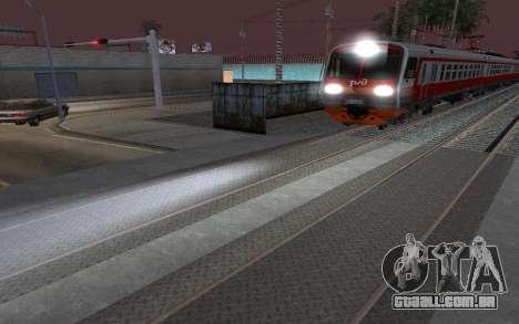Train light para GTA San Andreas
