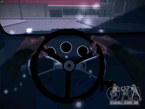 Seaz-3D para GTA San Andreas vista inferior