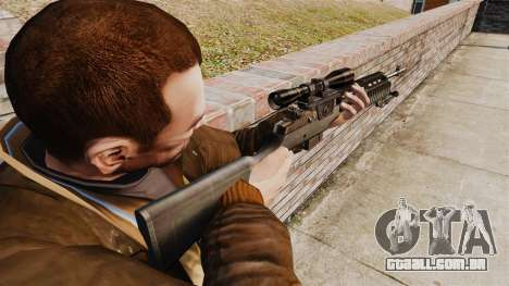 M21 sniper rifle v2 para GTA 4 segundo screenshot