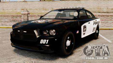 Dodge Charger Pursuit 2012 [ELS] para GTA 4