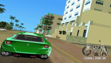 Ferrari FF 2011 para GTA Vice City vista direita