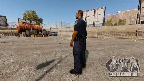 Um guarda-roupa atualizado para polícia para GTA 4 segundo screenshot