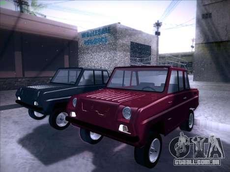 Seaz-3D para GTA San Andreas vista direita