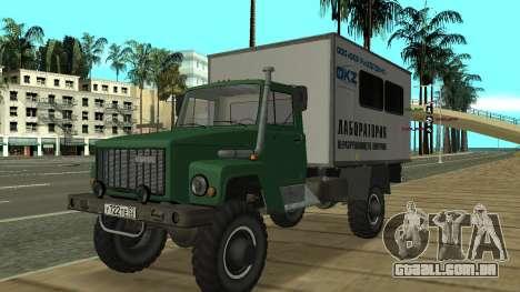 Sadko GAZ Avtolaboratoriâ 3309 para GTA San Andreas