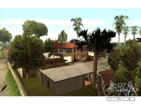 New CJ House para GTA San Andreas terceira tela