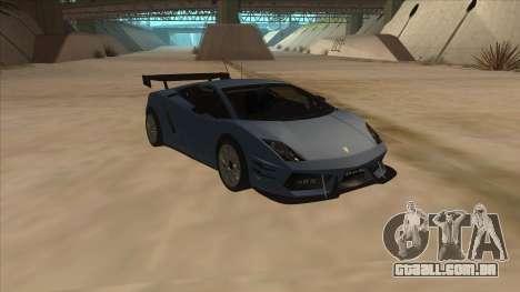 Lamborghini Gallardo LP560-4 Tuned para GTA San Andreas vista traseira