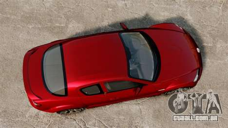Mazda RX-8 R3 2011 para GTA 4 vista direita