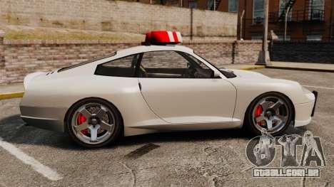 Polícia cometa para GTA 4 esquerda vista