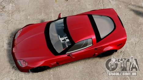 Chevrolet Corvette Z06 para GTA 4 vista direita