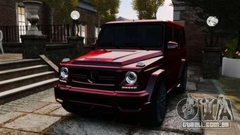 Mercedes-Benz B65 BRABUS para GTA 4