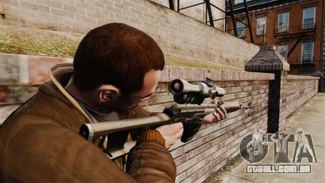 Dragunov sniper rifle v1 para GTA 4 segundo screenshot