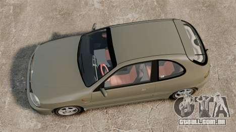 Daewoo Lanos Sport PL 2000 para GTA 4 vista direita