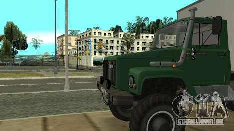 Sadko GAZ Avtolaboratoriâ 3309 para GTA San Andreas vista traseira