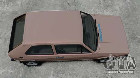 Volkswagen Golf MK1 GTI para GTA 4 vista direita