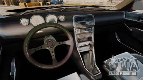 Honda Civic Gtaciyiz 2 para GTA 4 vista de volta