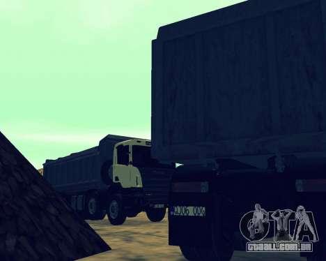 Scania P420 8X4 Dump Truck para o motor de GTA San Andreas
