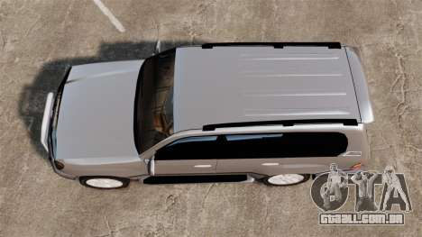 Toyota Land Cruiser 100 para GTA 4 vista direita