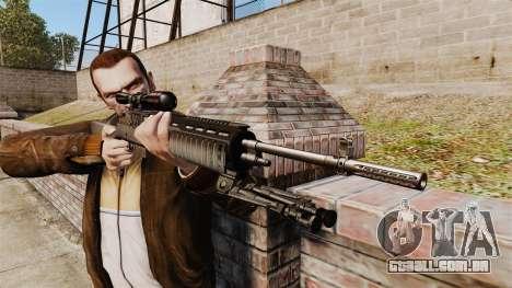 M21 sniper rifle v2 para GTA 4 terceira tela