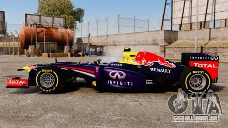 Carro, Red Bull RB9 v5 para GTA 4