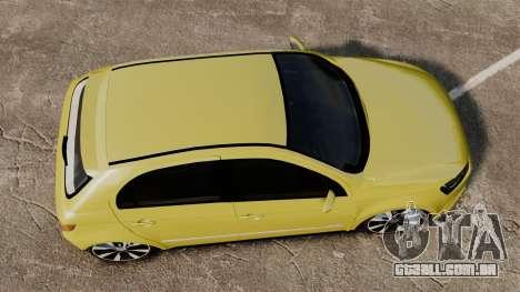 Volkswagen Gol G6 para GTA 4 vista direita