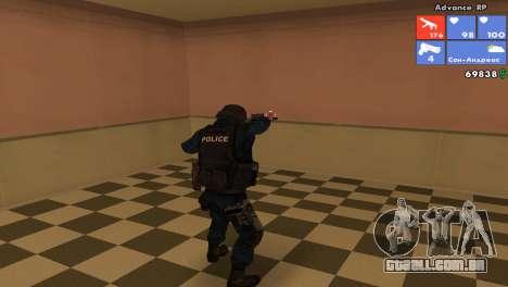 Pele da SWAT para GTA San Andreas segunda tela