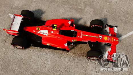 Ferrari F138 2013 v6 para GTA 4