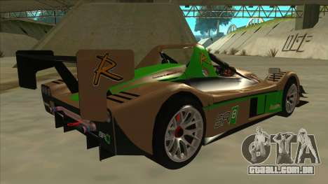 Radical SR8 RX para GTA San Andreas vista direita