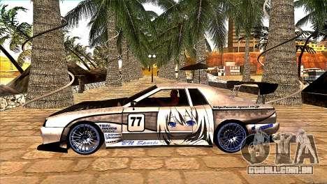 Elegy BN Nismo Sports para GTA San Andreas traseira esquerda vista