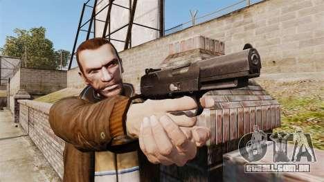 Carregamento automático pistola FN Five-seveN v2 para GTA 4 terceira tela