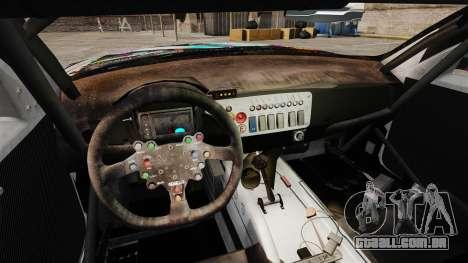 BMW Z4 M Coupe GT Miku para GTA 4 traseira esquerda vista