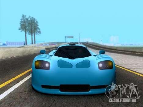 Mosler MT900S 2010 V1.0 para GTA San Andreas vista traseira