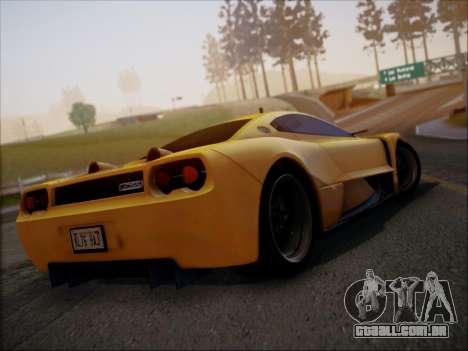 Joss JP1 2010 Supercar V1.0 para GTA San Andreas
