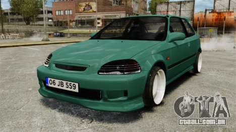 Honda Civic Al Sana para GTA 4