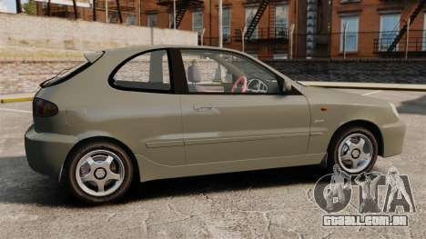 Daewoo Lanos Sport PL 2000 para GTA 4 esquerda vista