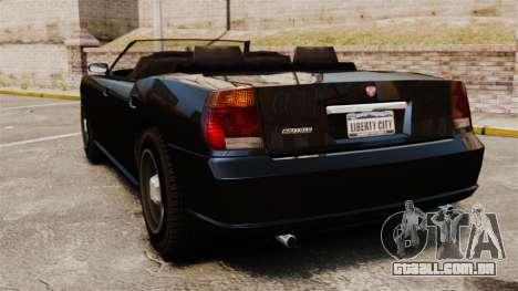 Limusine de búfalo para GTA 4 traseira esquerda vista