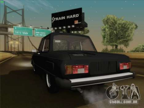 ZAZ 968 para GTA San Andreas vista direita