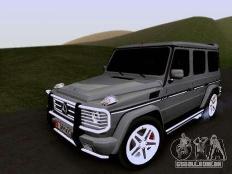 Mercedes-Benz G55 AMG para GTA San Andreas